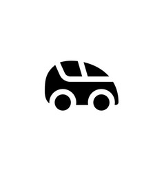 car icon vehicle vector image