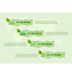 Ecology presentation vector