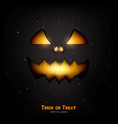 happy halloween banner 3 vector image
