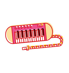 Piano music instrument to melody harmony vector