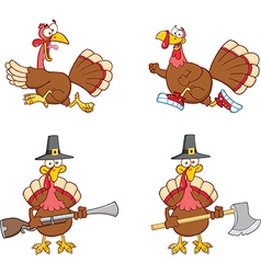 Thanksgiving cartoon vector