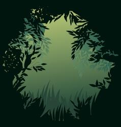 nature peephole vector image