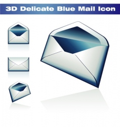 3d classic post icon vector image
