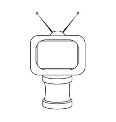 Bronze award in famer of the tv with aerialtrophy vector