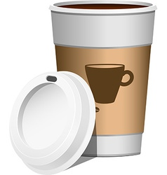 Coffee go on vector image vector image