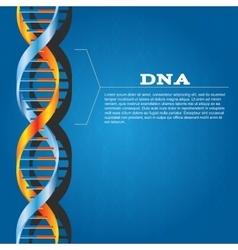 dna background vector image
