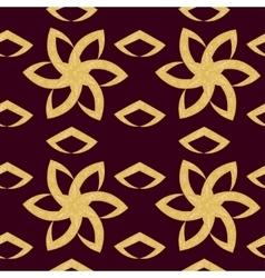 floral pattern ornate flowers vector image