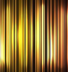 Golden and shiny stripes background vector