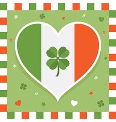 irish decoration vector image