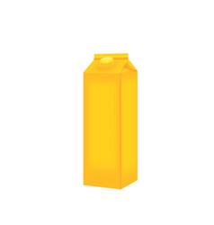 Liquid pack template vector