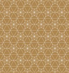Seamless geometric pattern based on japanese vector