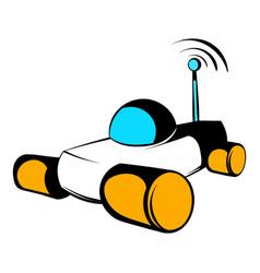 mars exploration rover icon icon cartoon vector image vector image