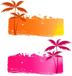 Grungy backgrounds vector