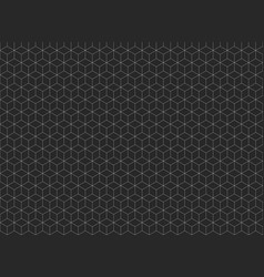Abstract of pentagonal shape pattern background vector