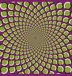 Anomalous rotation motion vector