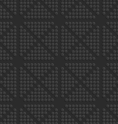 Black dots embossed seamless vector