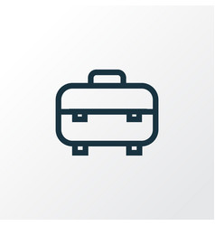 Equipment outline symbol premium quality isolated vector