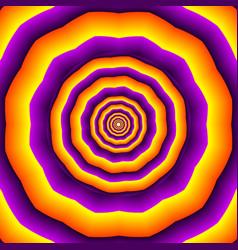 Hypnotic polygones vector