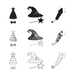 Party and birthday logo vector