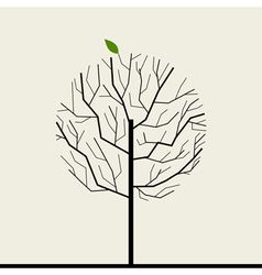 Wood tree vector