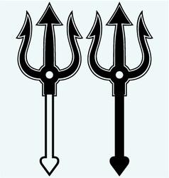 Trident symbol vector image vector image