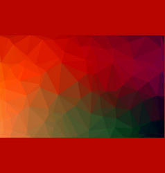 abstract colorful polygonal lowpoly background vector image
