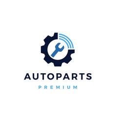 automotive online service logo icon vector image