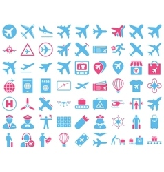 Aviation Icon Set vector