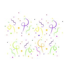 Colorful carnival celebration vector