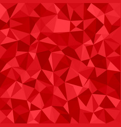 Geometric triangle mosaic background - polygonal vector