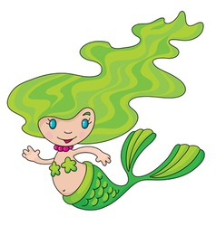 Mermaid little vector