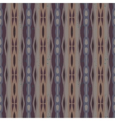 Decorative striped pattern in organic colors vector