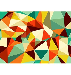 Trendy vintage geometric seamless pattern vector