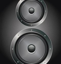 Audio Speaker Icon4 vector image vector image