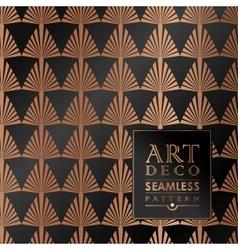 Art deco seamless vintage wallpaper pattern vector