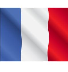 France flag vector image