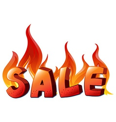 A sale artwork vector