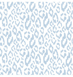 Abstract seamless leopard skin pattern in vector
