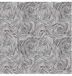 Abstract swirl chaotic line doodle seamless vector