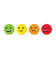 emotion balls icon vector image