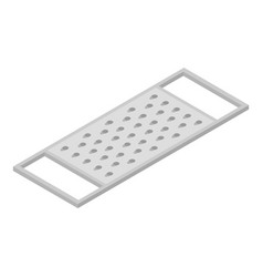 Grater icon isometric style vector