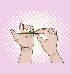 Homemade beauty salon cost savings caring vector