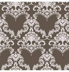 Vintage Damask Pattern ornament in Classic style vector image