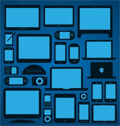 Mobile devices vector
