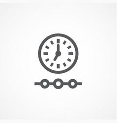 timeline icon vector image