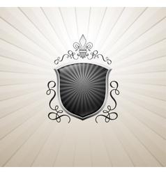 Vintage heraldry emblem vector image vector image