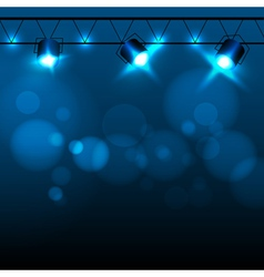 Abstract neon disco background vector image