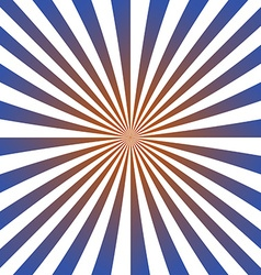 Blue red ray design background vector