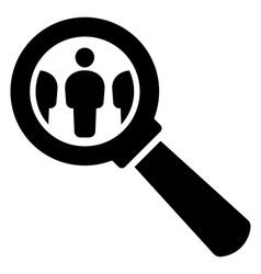 HR icon vector image vector image