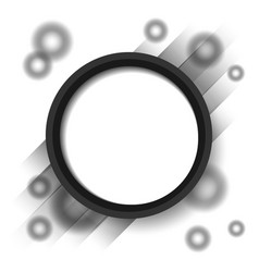 abstract circle blackground vector image